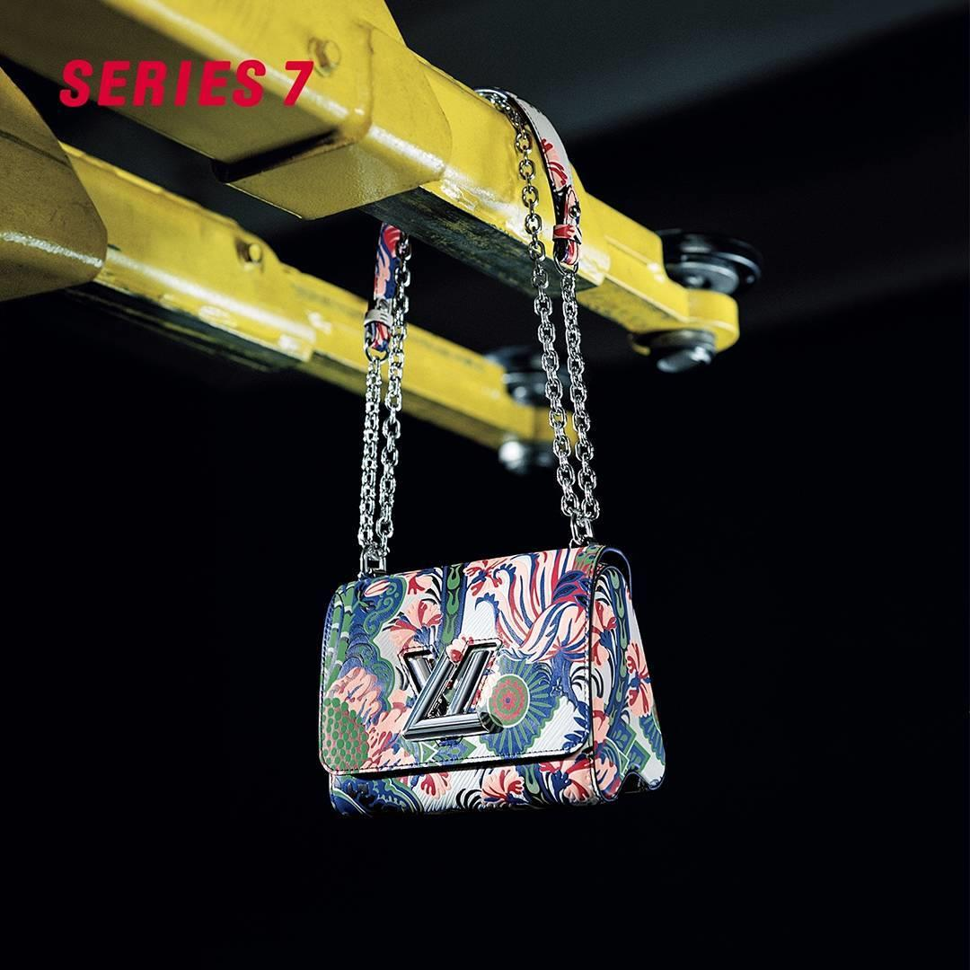 The classic Twist gets a feminine touch for the new #LVSERIE ...