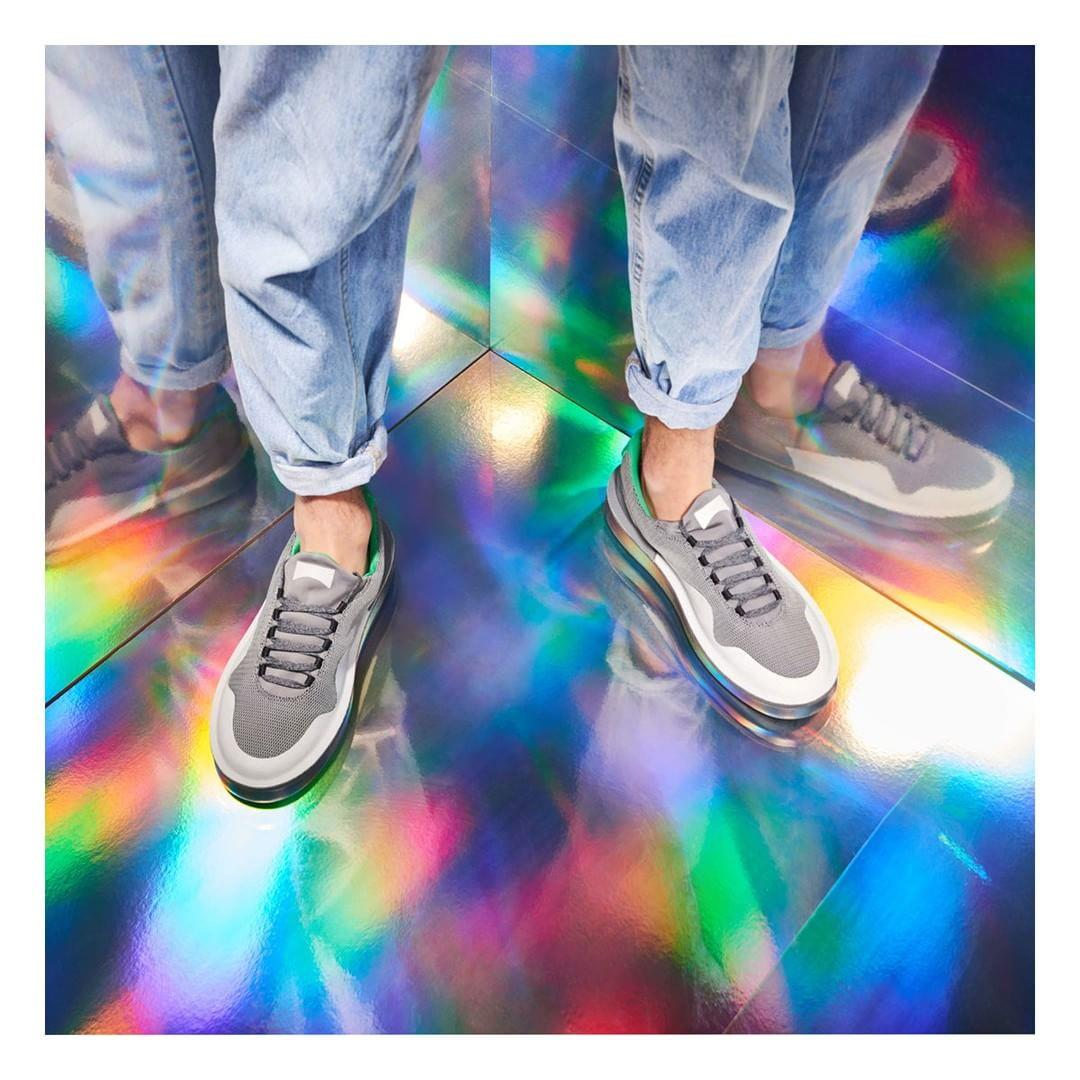 Low Glow: A subtle sneaker that keeps color at bay. #SS2017  ...
