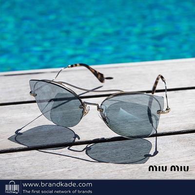میو میو با طراحی عینک های متنو
