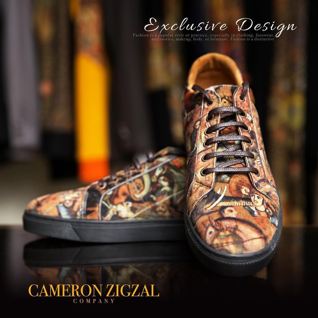 كفش اسپورت كمرون زيگزال
