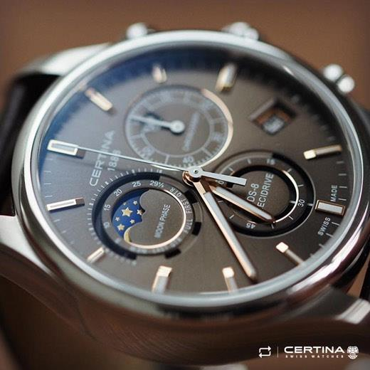 #Regram #Certina #DS8 #MoonPha