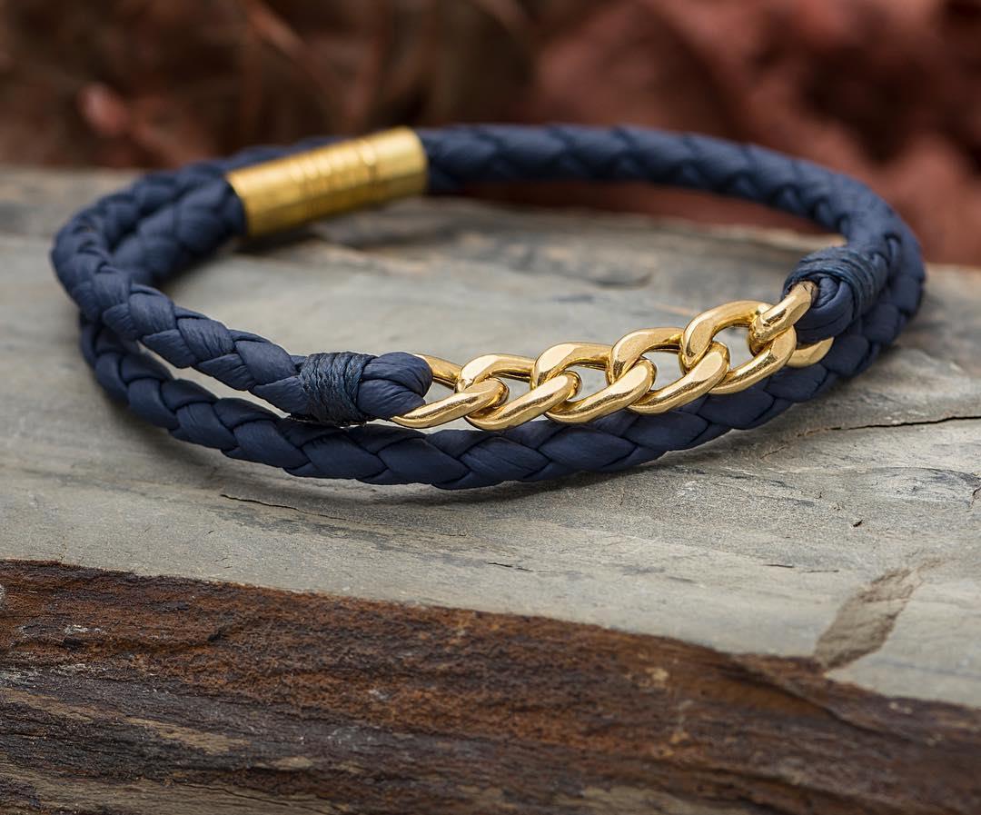 دستبند طلا چرم كارتير قيمت طل