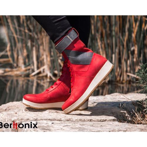 #Shoe #red #Berttonix