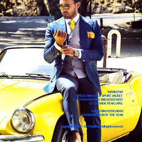 #کت و شلوار#کراوات#پوشت#مسیح ز