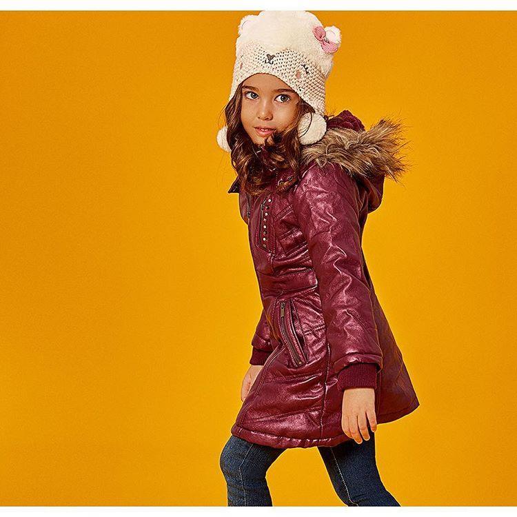 #کاپشن بچگانه#لباس زمستانه#ال