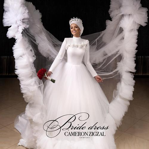 Cameronzigzal's wedding gown
