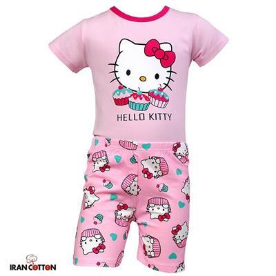 لباس خواب دخترانه صورتي قیمت