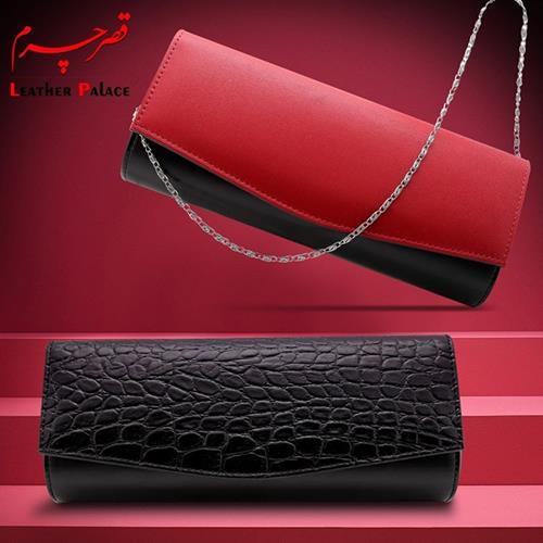 کیف زنانه رنگ : قرمز - مشکی
