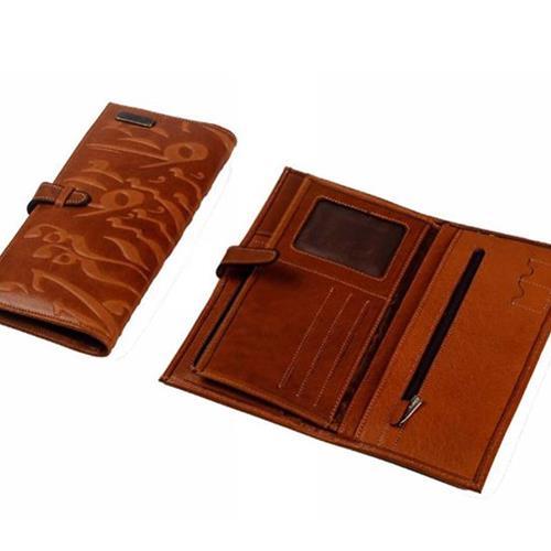 کیف پول اسپرت سیاه مشق کد۲۰۵۰