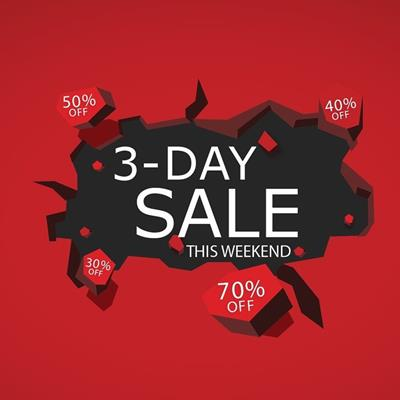 3-Day Sale up to 70%❗️ حراج ۳