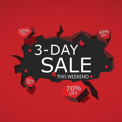 3-Day Sale up to 70%❗️