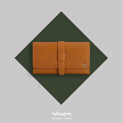 یک کیف پول چرم و با کیفیت می
