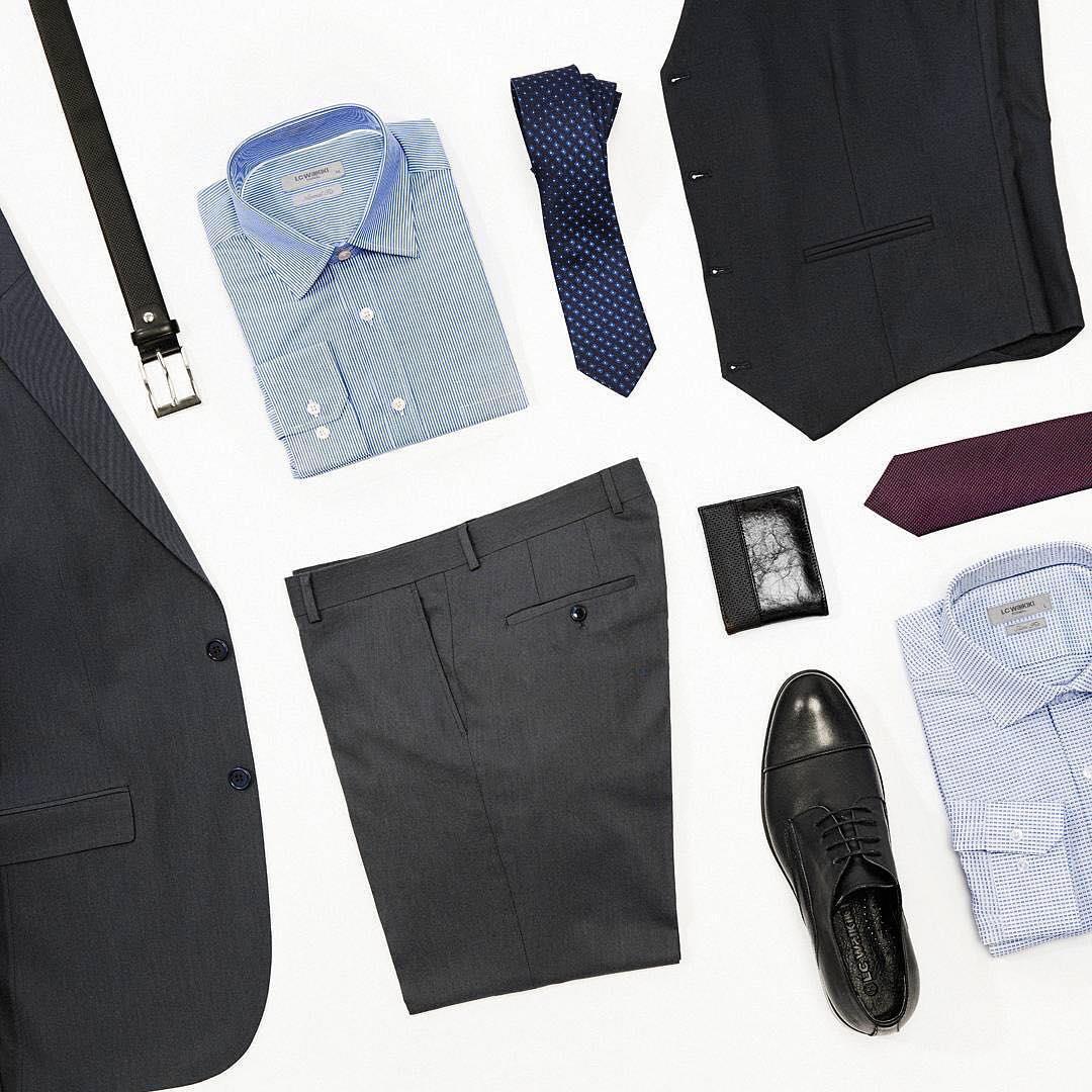 # کت و شلوار # کراوات # کفش #