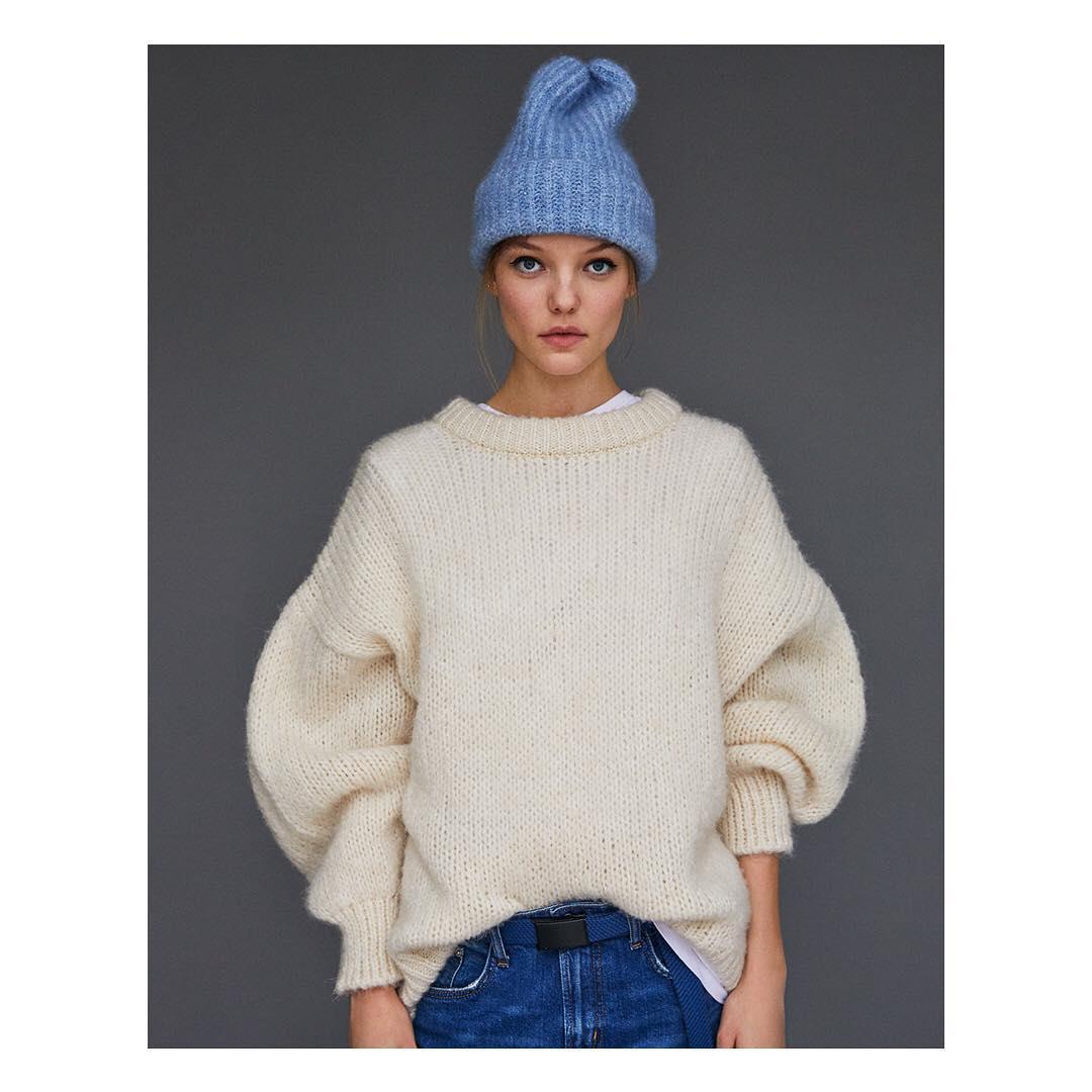 بافت زنانه زارا Winter = Knit