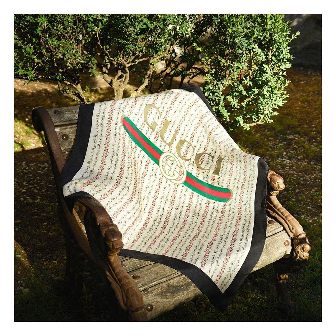 روسری گوچی Silk scarves have