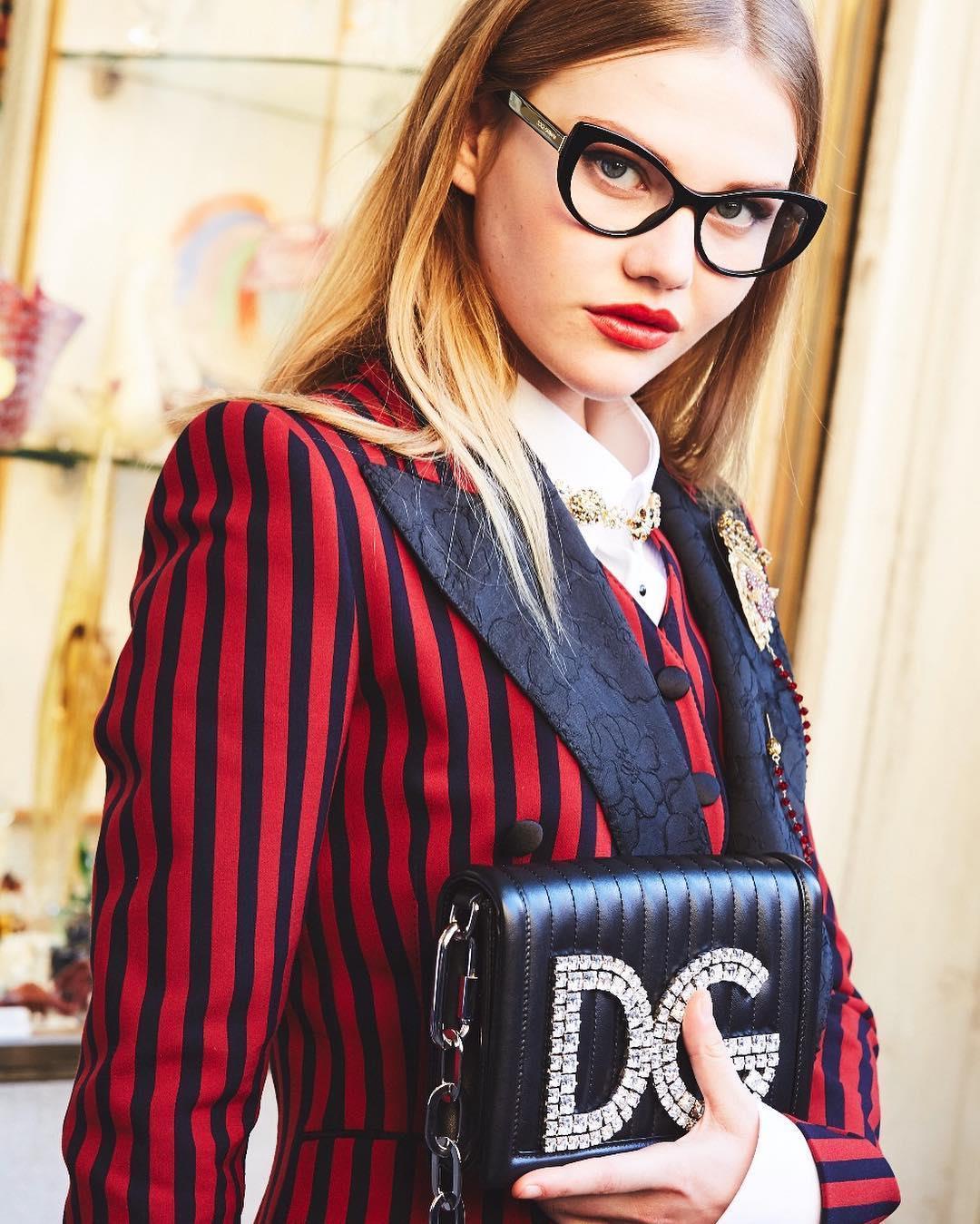 عینک و کیف دلچه گابانا(D&G) #