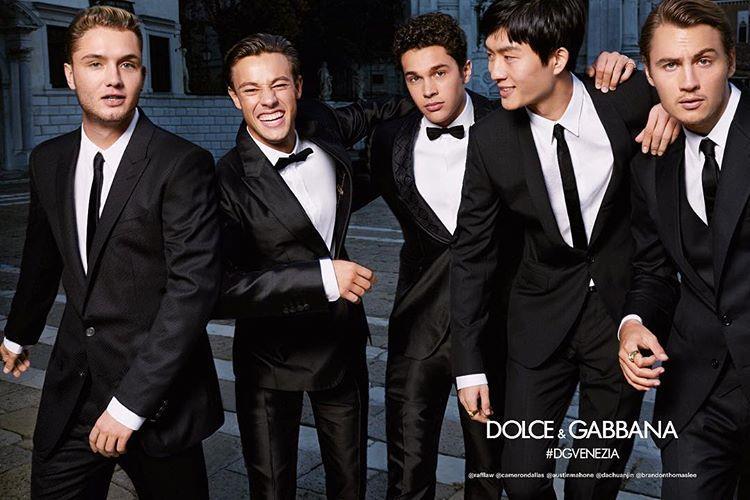 پوشاک مردان دلچه گابانا(D&G)