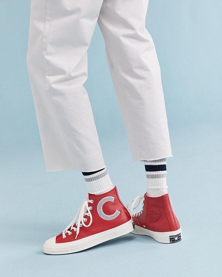 کفش کانورس Vintage design. Bo