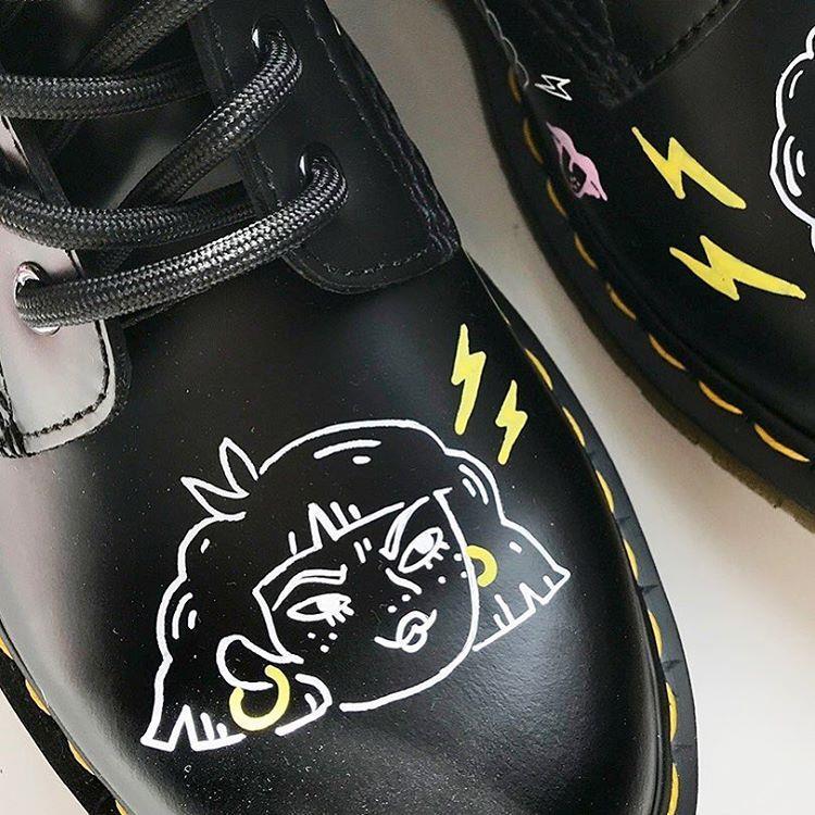 کفش دکتر مارتینز با سبکی متفاو