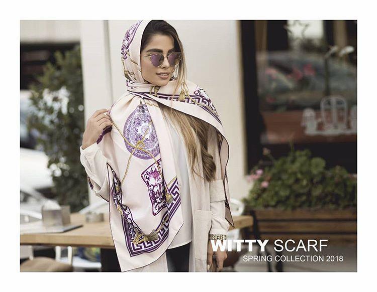 روسری چهارفصل دلنشین کله  رو