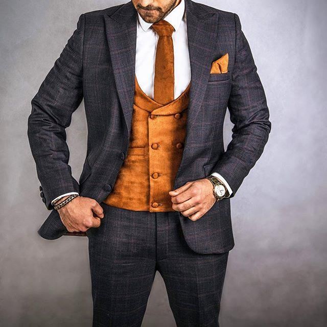 کت و شلوار مردانه استفاده از