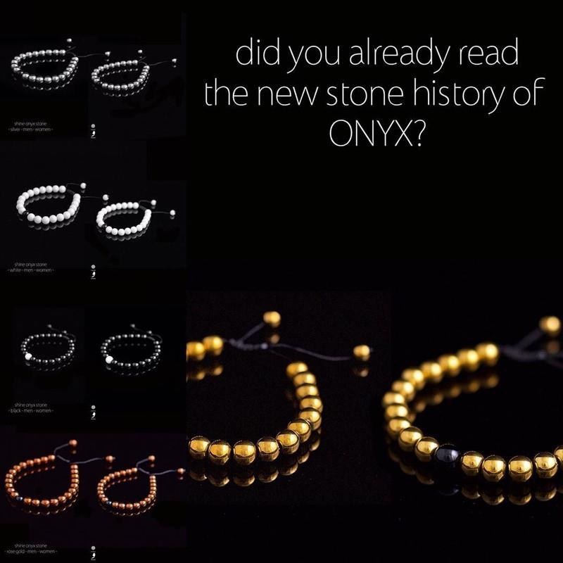 دستبند های سنگ onyx   #vima
