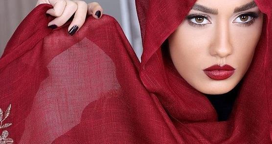 تناسب شال و روسری با رنگ پوست