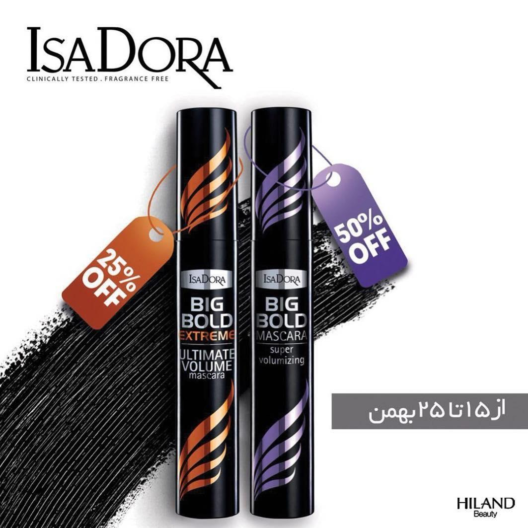 Isadora big bold extreme Isa
