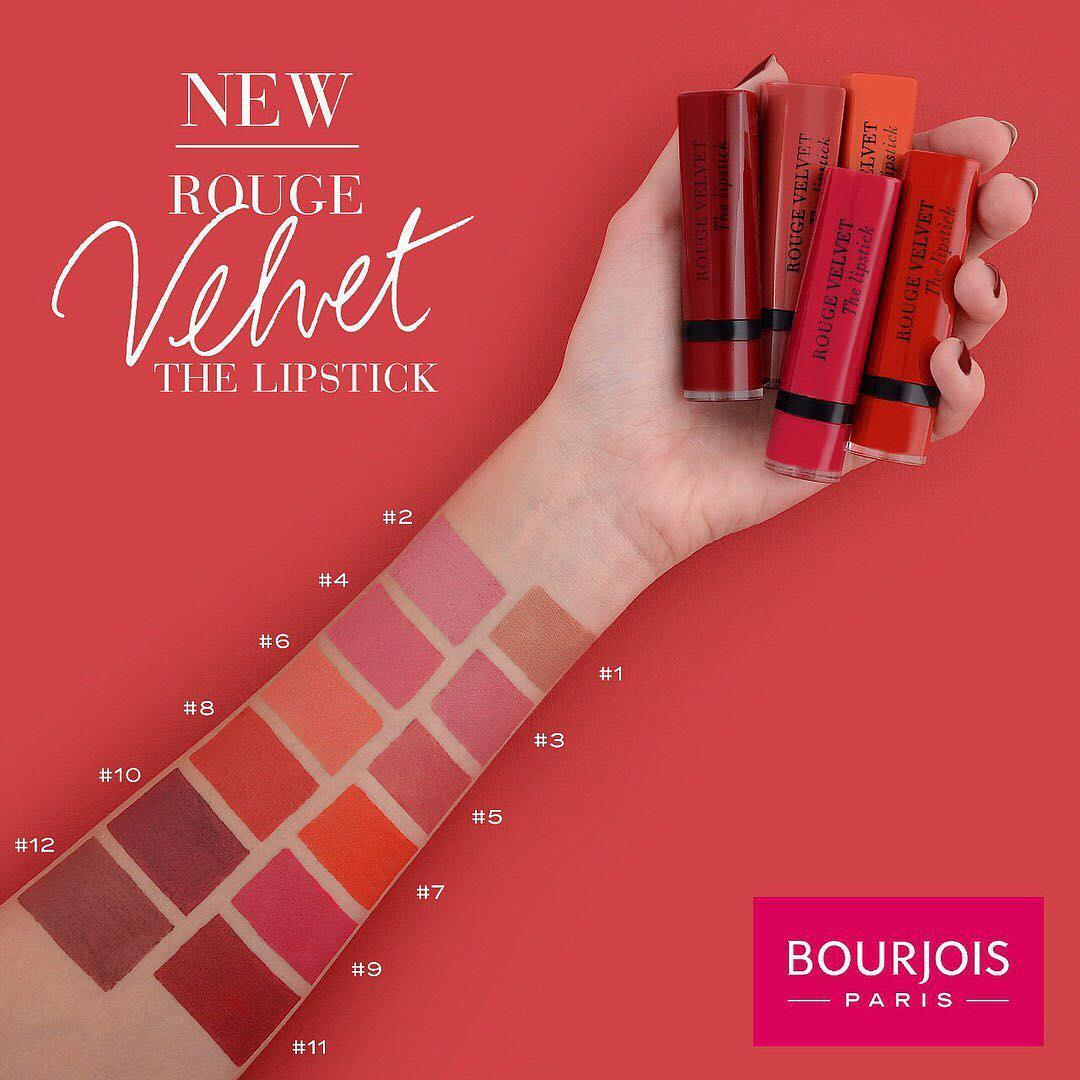 Bourjois Rouge Velvet The Lips