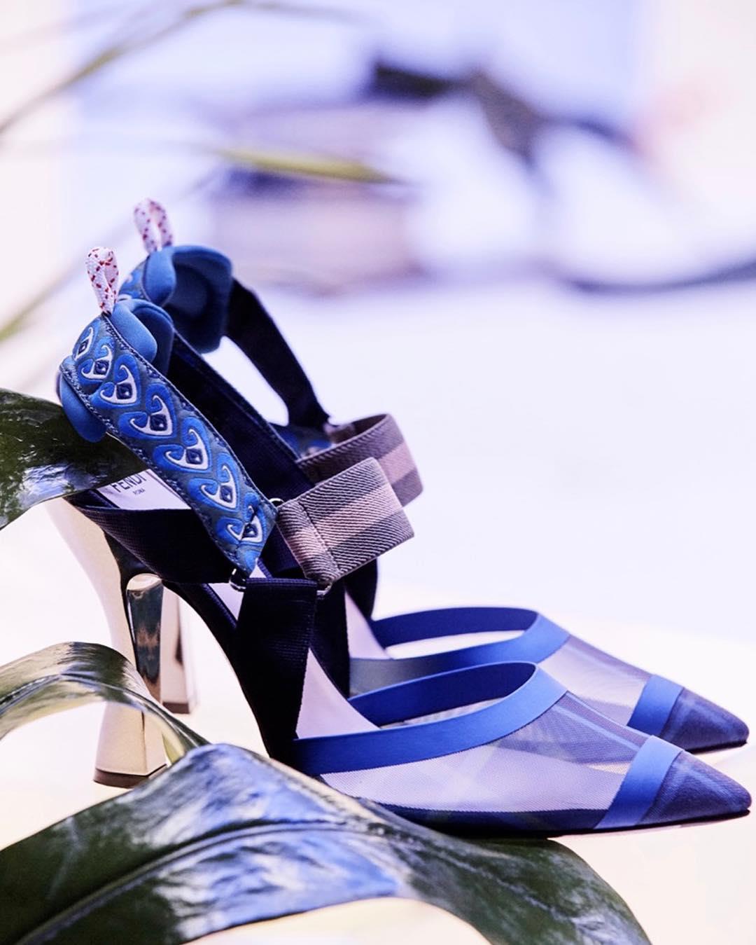 #کفش#زنانه#فندی