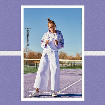 لباس جین دخترانه#پپه جینز #Pe