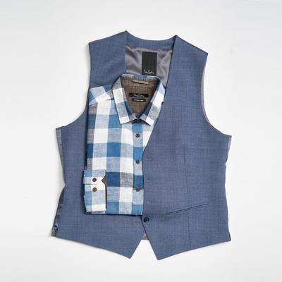 پیراهن و جلیقه مردانه پیر کارد