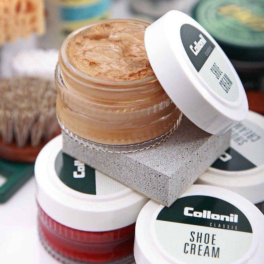 shoe cream jar