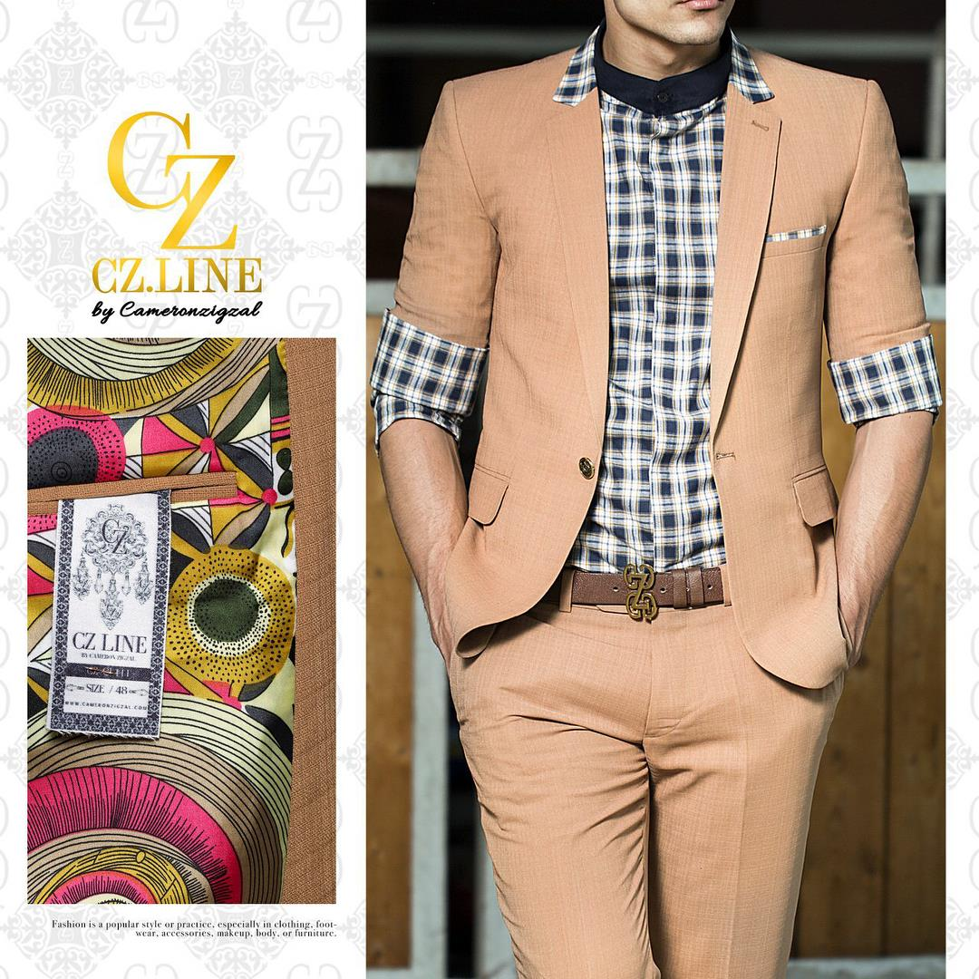 پوشاک مردانه کمرون زیگزال