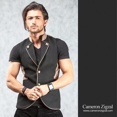 پوشاک مردانه کمرون زیگزال #fa