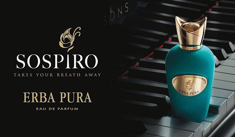 *Erba Pura* edp, by SOSPIRO fo