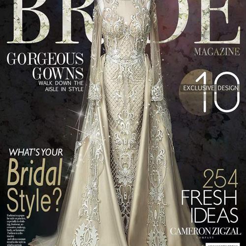 لباس عروس سفارشی #کمرون زیگزال