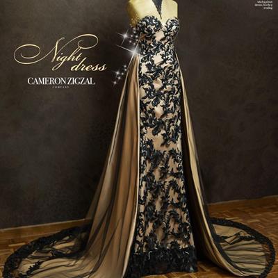 لباس شب #کمرون زیگزال ویمن Ca