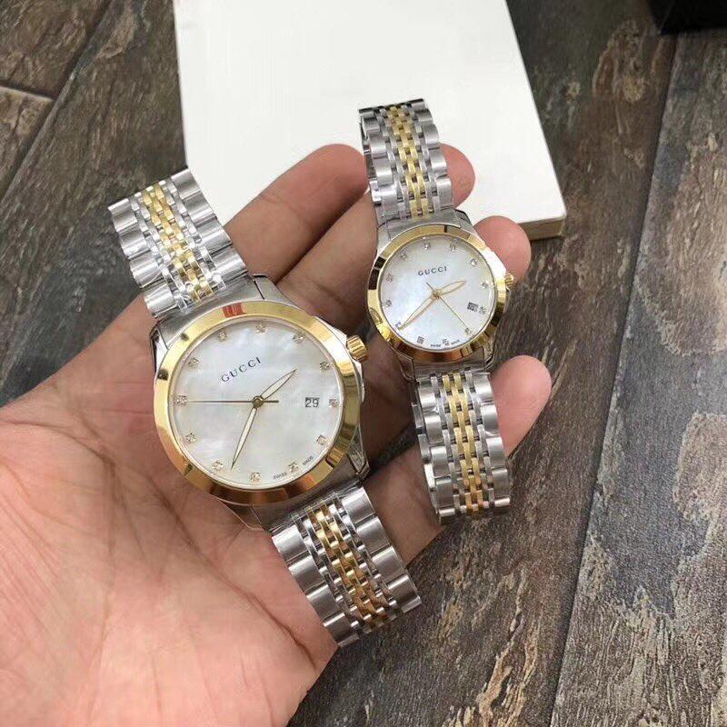 ست ساعت مردانه و زنانه گوچی #