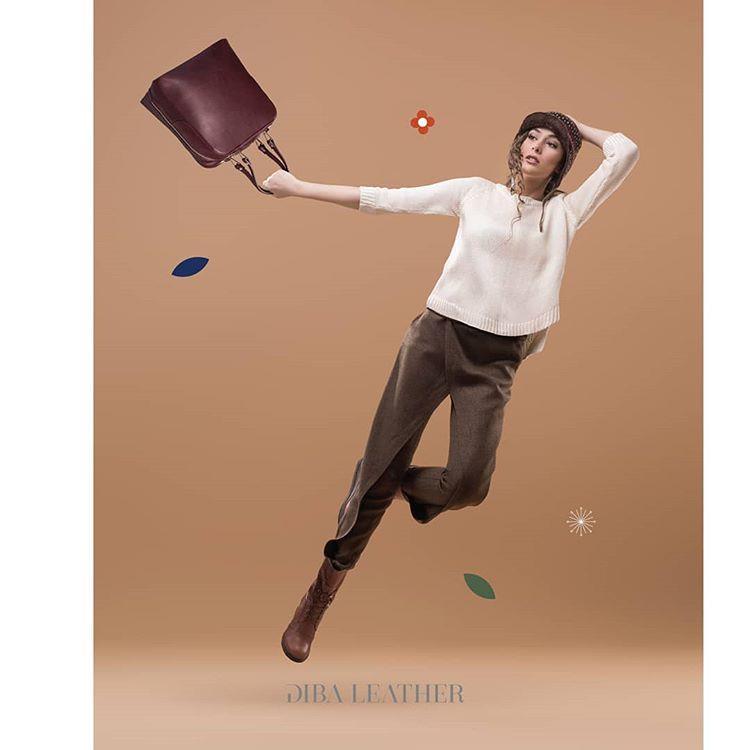 کیف زنانه رنگ: مشکی و زرشکی