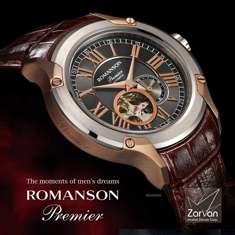 ساعت مردانه از برند رومانسون