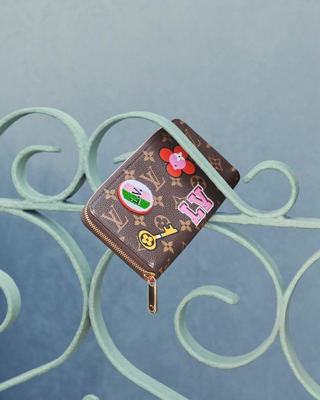 کیف پول دخترانه لویی ویتون #L