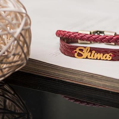 """Leather Bracelet """"Shima"""" ▶️Go"""
