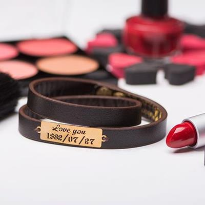 """Leather Bracelet """"LoveYou"""" ▶️"""