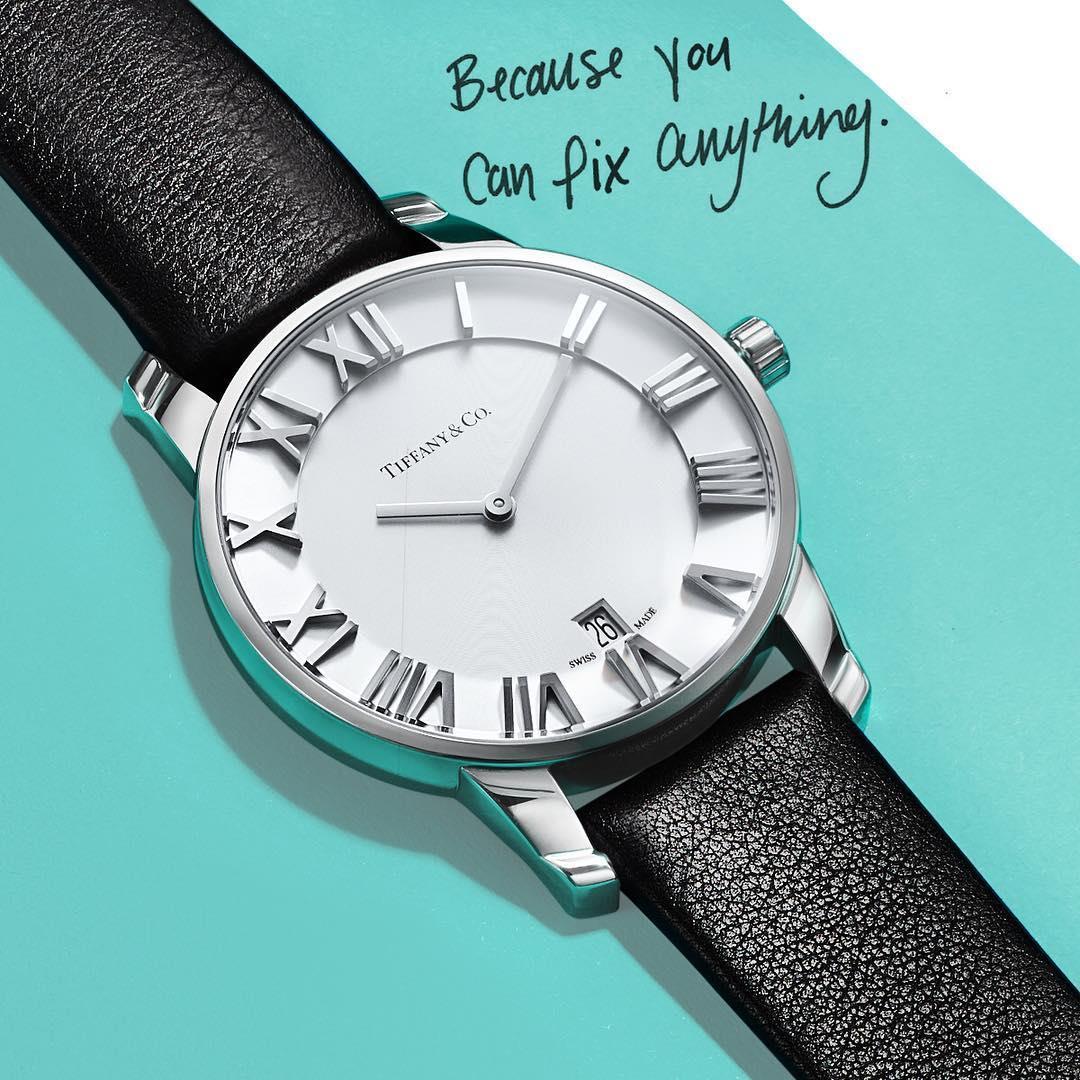 ساعت مچی تیفانی #TiffanyAtlas