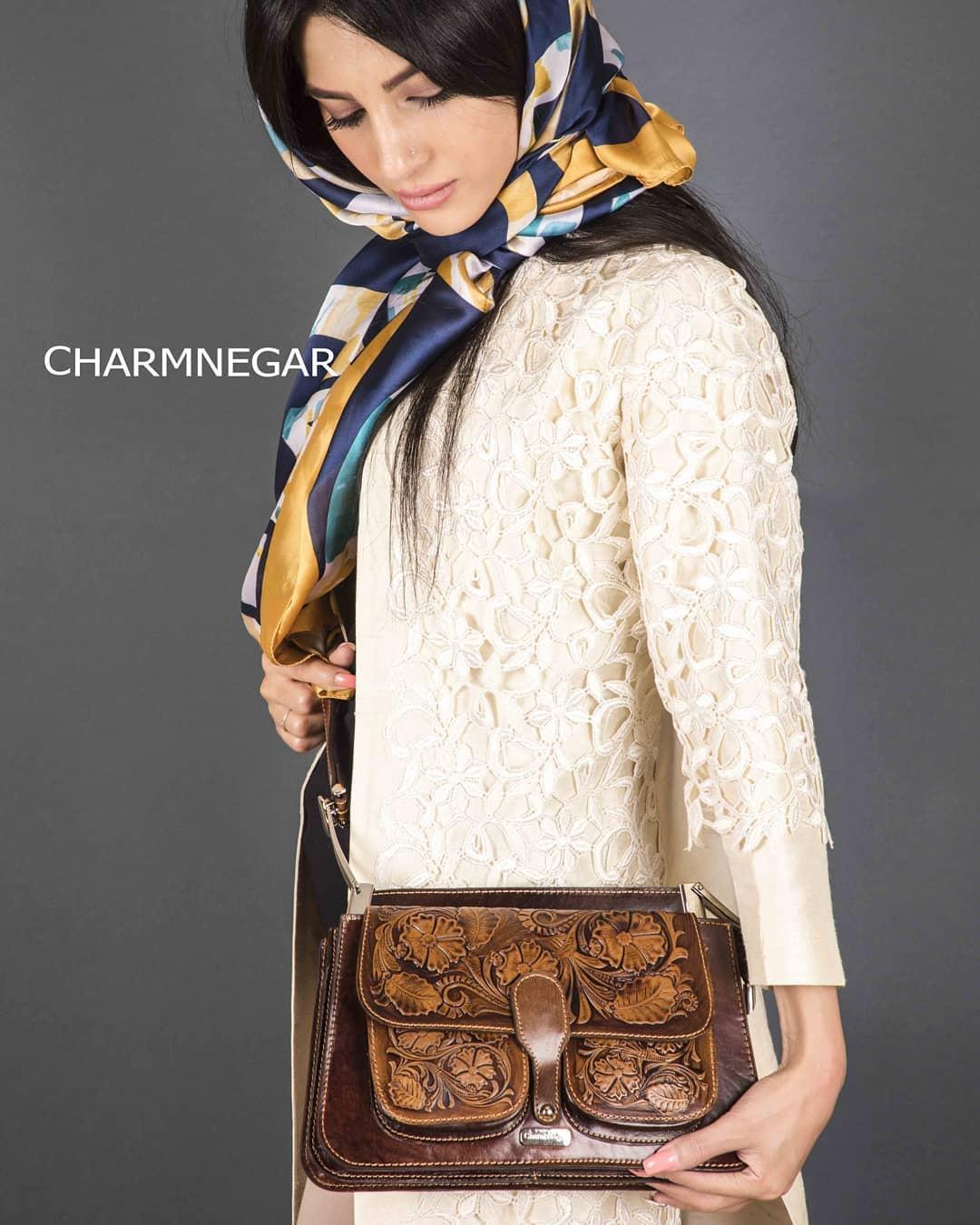 کیف دوشی زنانه قلم کاری شده