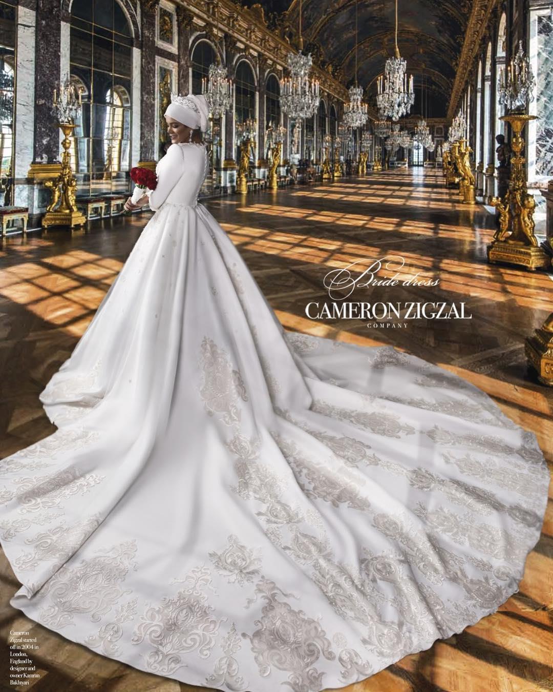 Cameronzigzal's wedding Gown✨