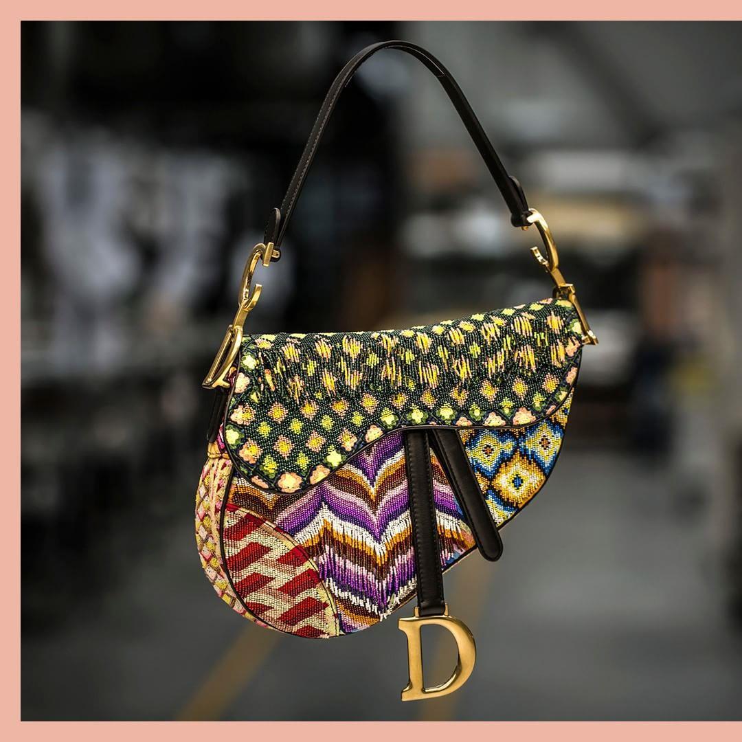 کیف دستی زنانه دیور #DiorSavo