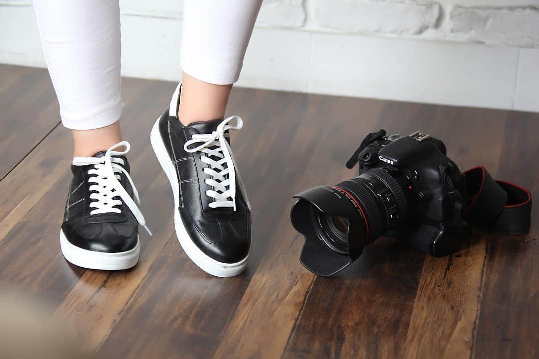 کفش زنانه چرم طبیعی شیفر مدل: