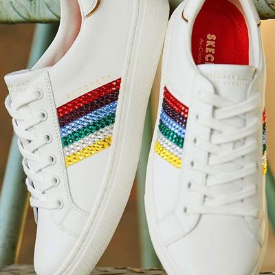 کفش اسپرت اسکچرز #کفش_اسپرت_زن
